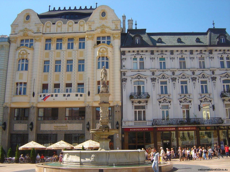 Schokokafe Maximilian - the main building