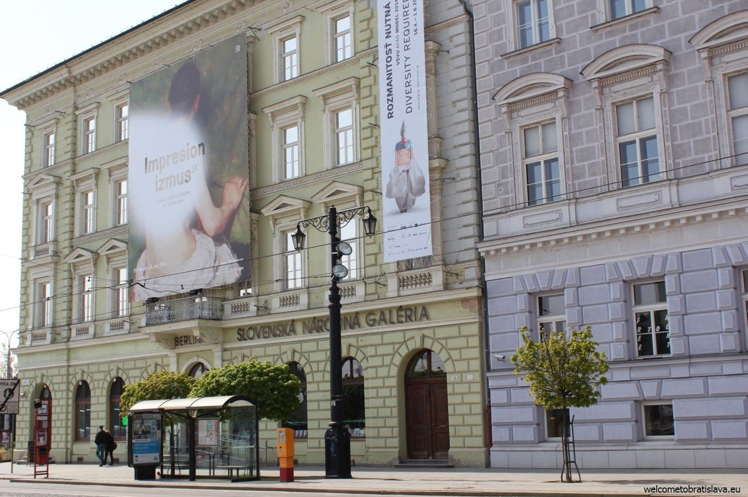 The Slovak National Gallery building