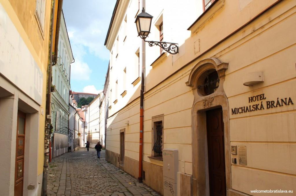 Bratislava's narrowest street