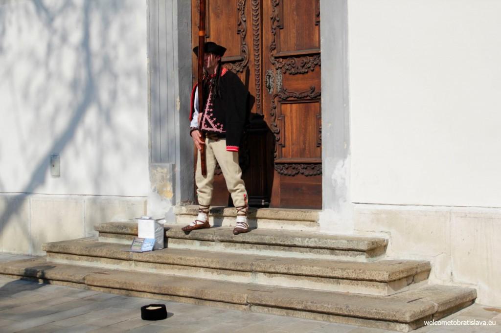Bratislava street artist