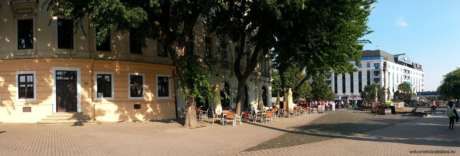 The branch at the Hviezdoslav's square
