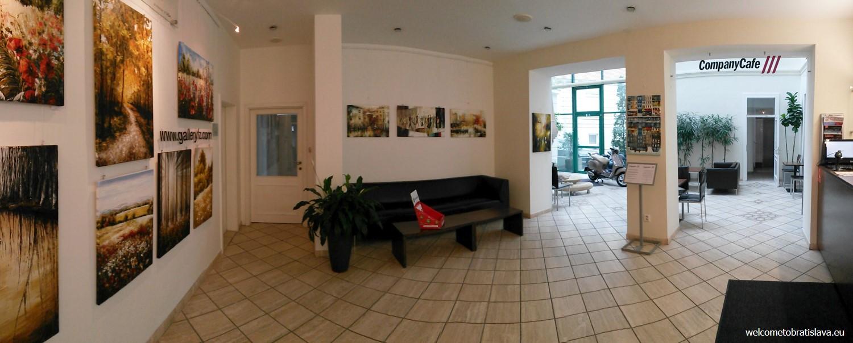 Company Art - the interior