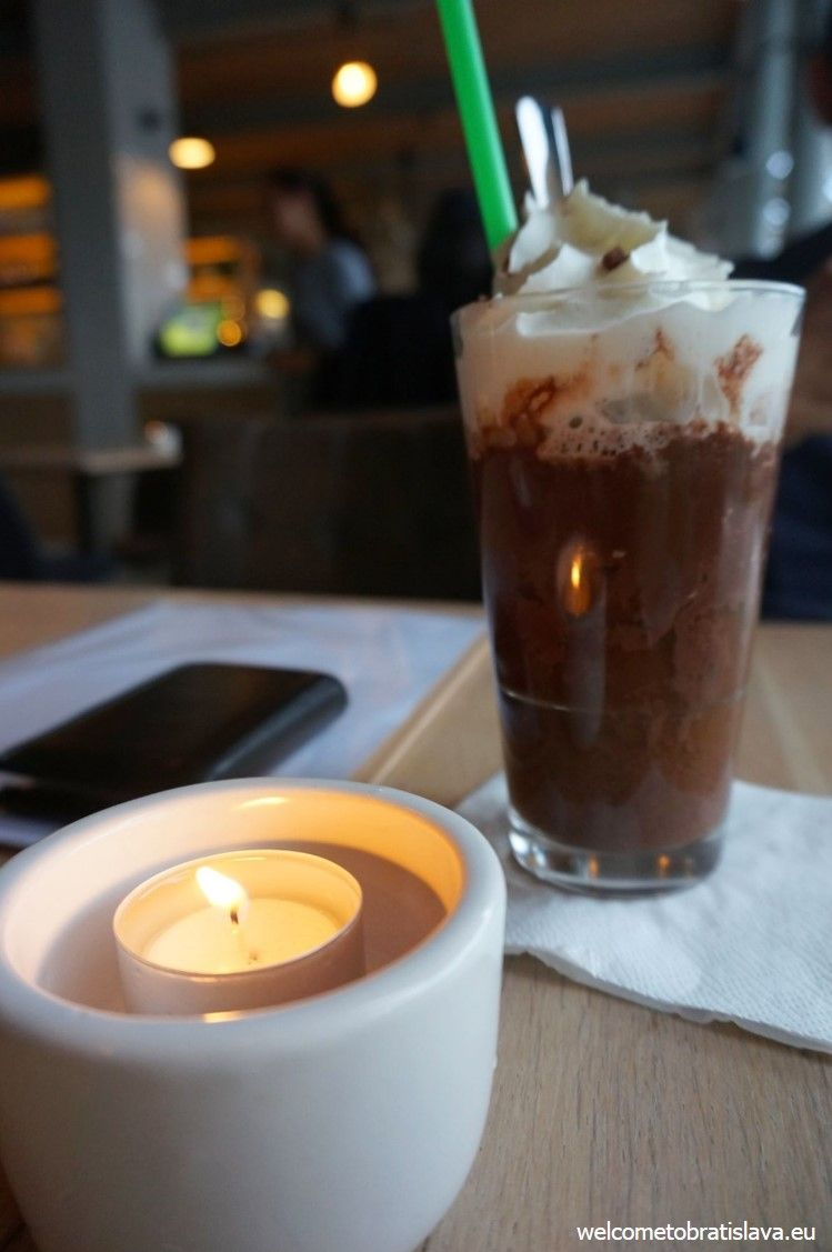 The iced moccachino