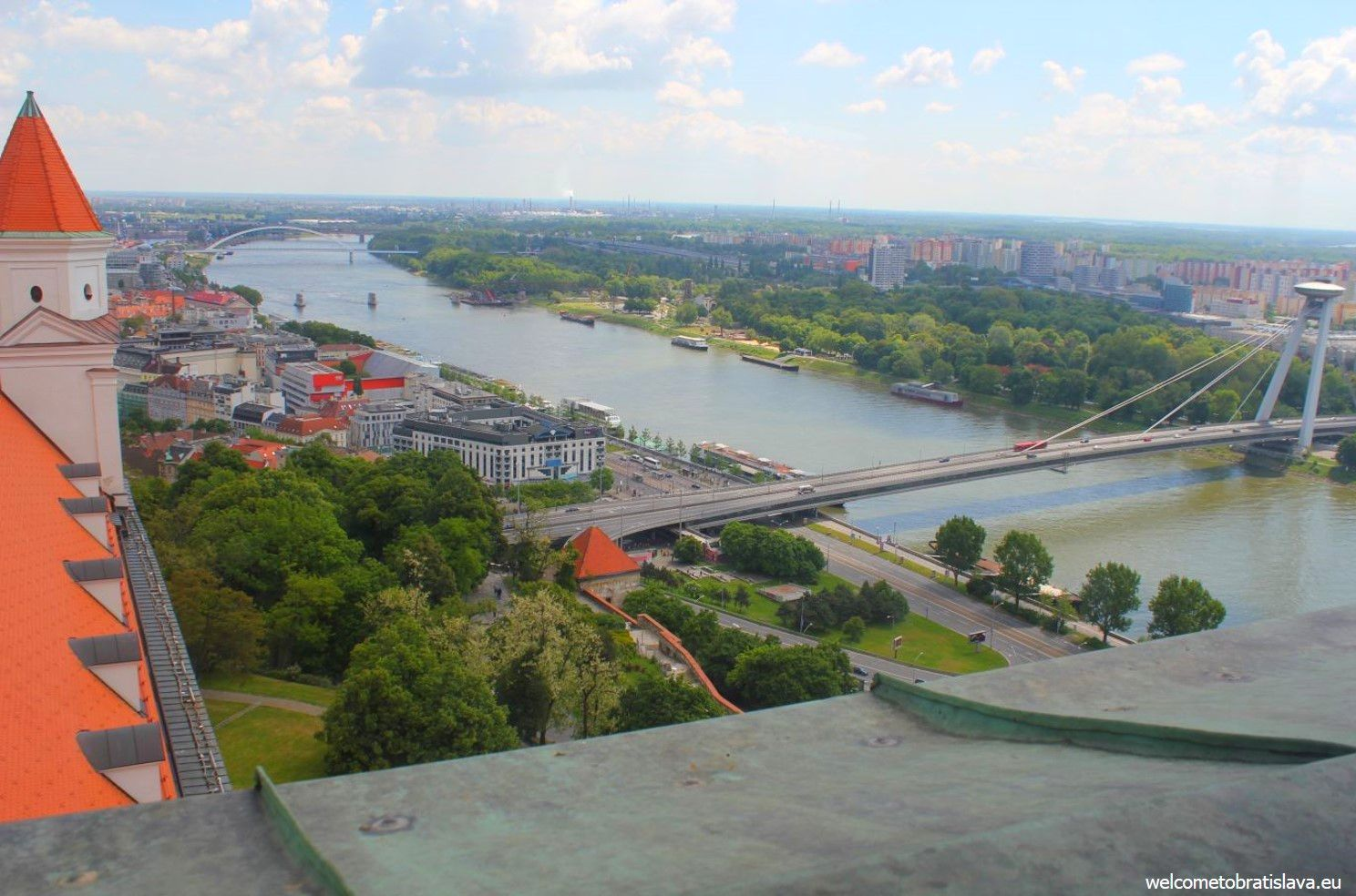View from the Castle's Crown Tower