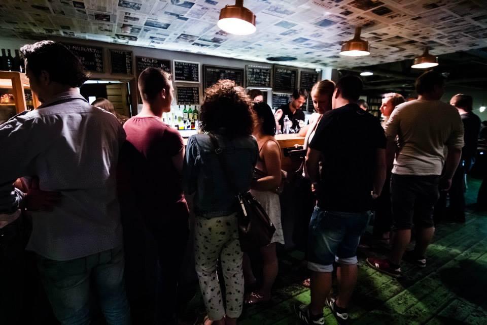 KC Dunaj: the main bar