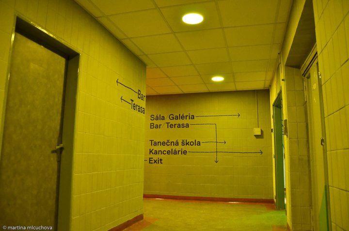 KC Dunaj: the corridor