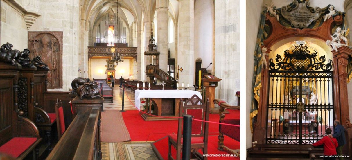 ST  MARTIN'S CATHEDRAL: GOTHIC CHURCH & CATACOMBS