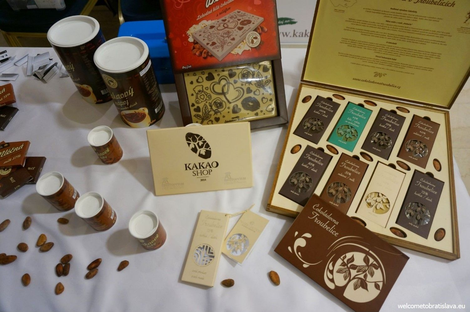 One of the Slovak chocolate producers