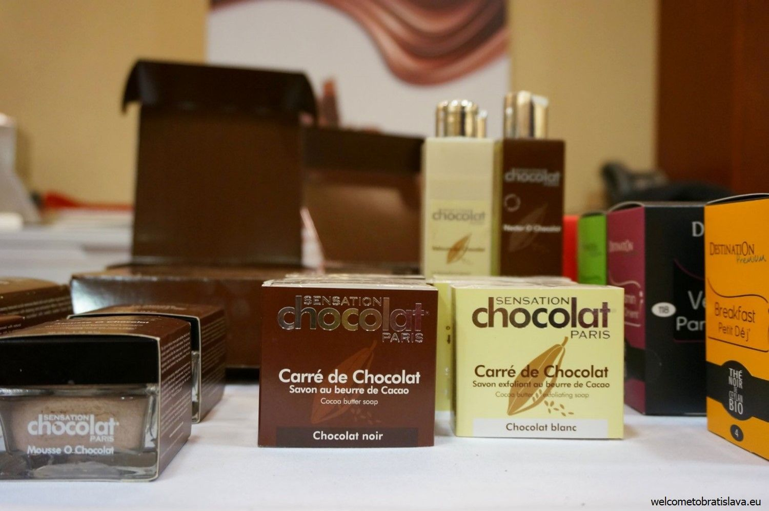 Chocolate cosmetics!