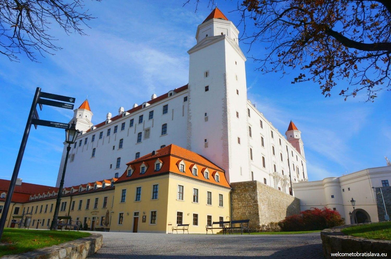 Outdoor places for kids in Bratislava - Bratislava Castle