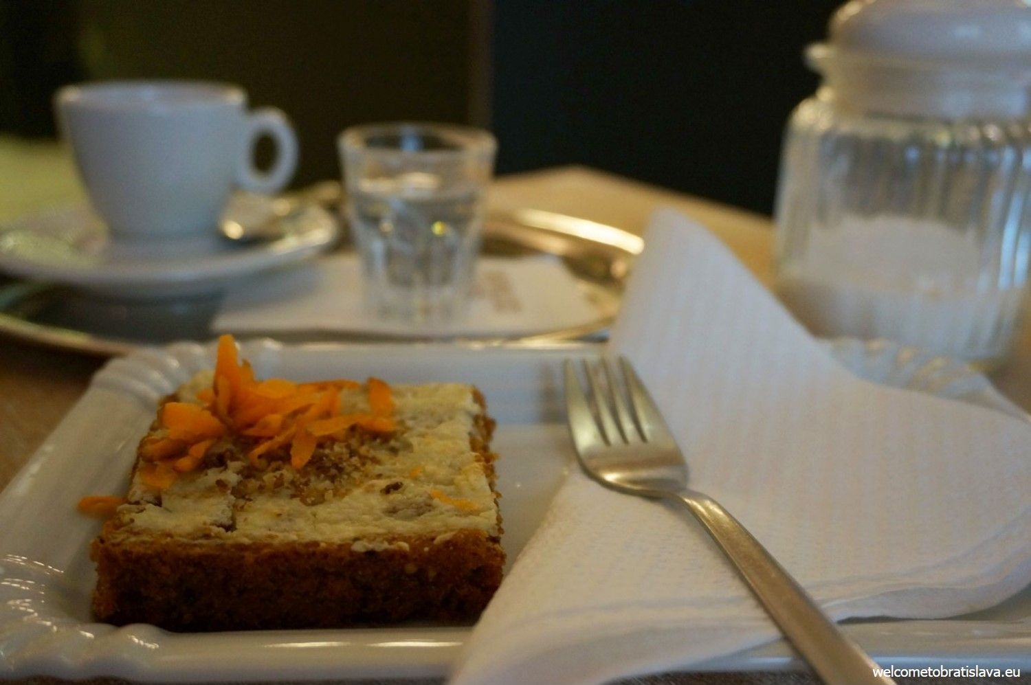 The healthy carrot cake