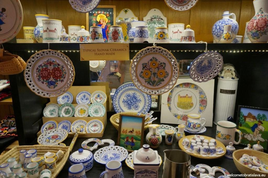 Typical Slovak hand-made ceramics