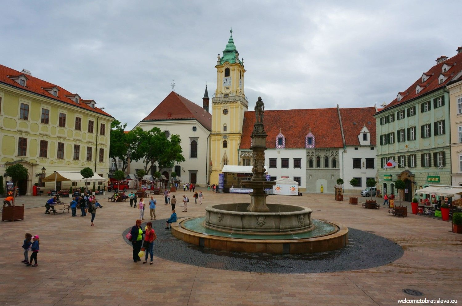 Main square and the Old Town Hall