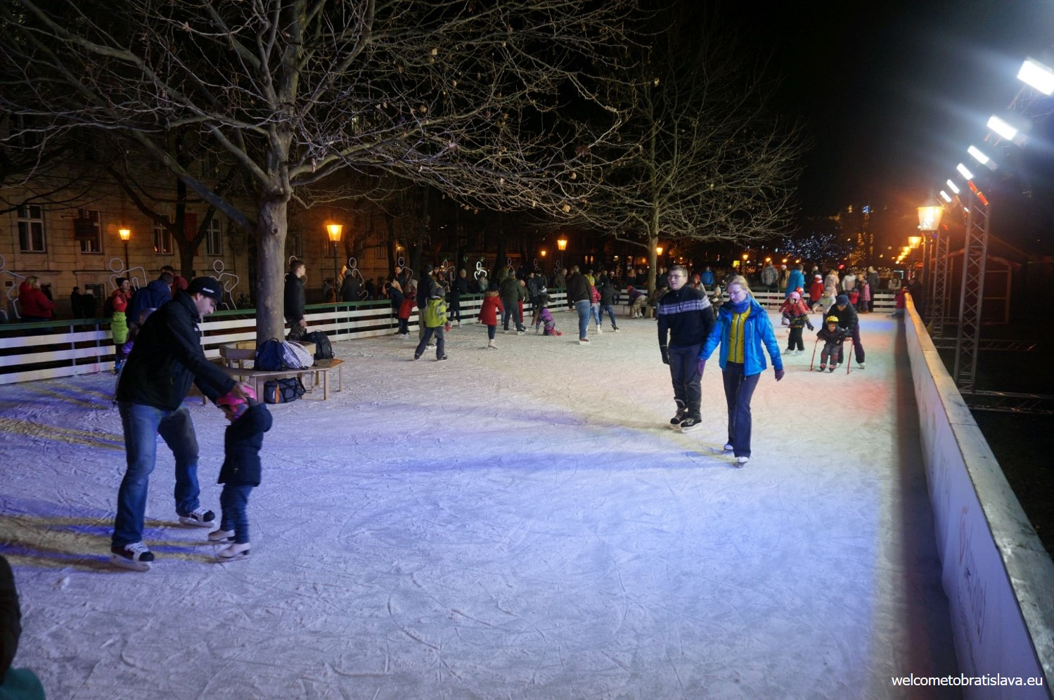 ice skating in bratislava
