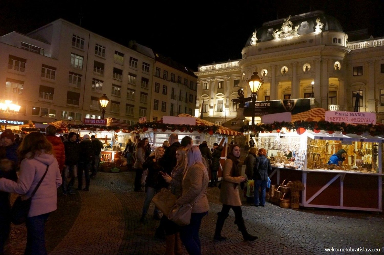 Hviezdoslav's square - the national theater