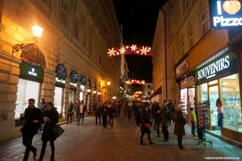Bratislava streets by night :)
