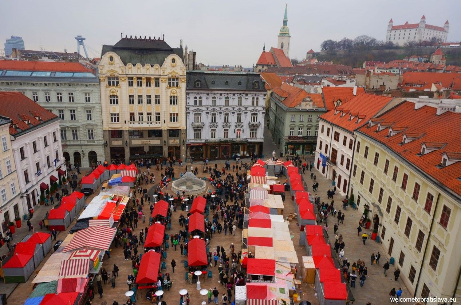 Christmas markets at the Main square