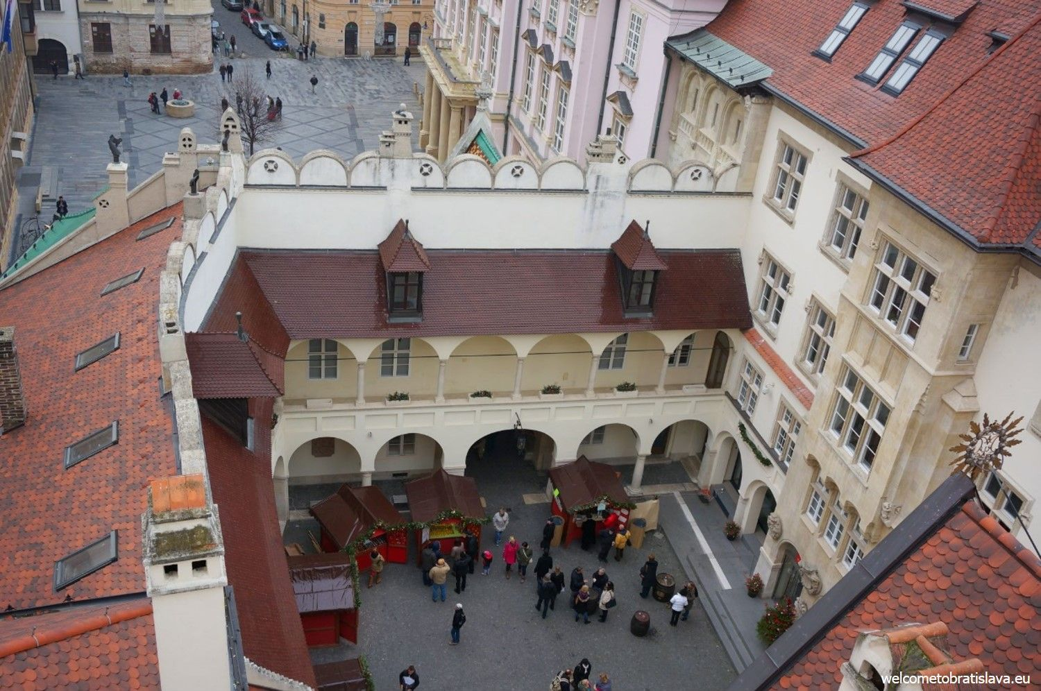 Museum of City History - view from the Old Town Hall