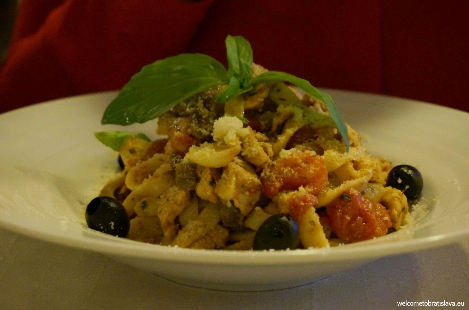 Tagliatelle Siciliana