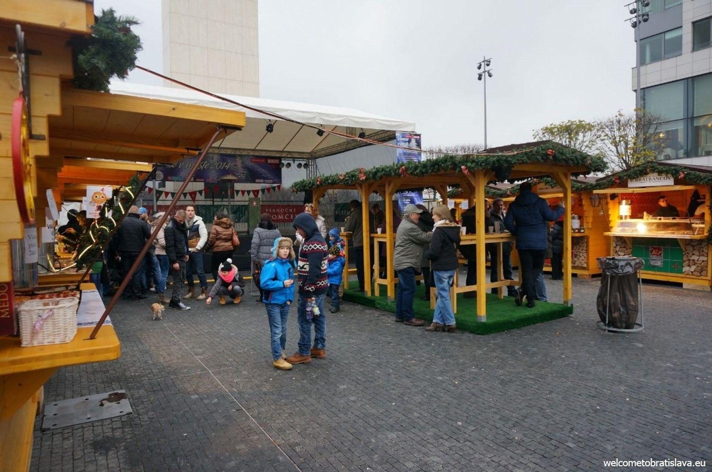 Christmas markets at Eurovea