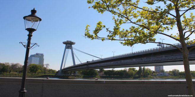 SOCIALIST ARCHITECTURE IN BRATISLAVA: UFO bridge and tower