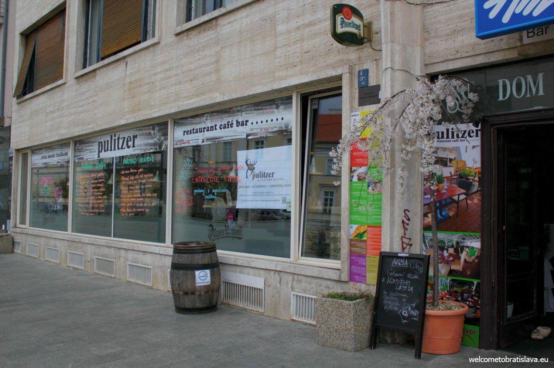 Pulitzer - main entrance