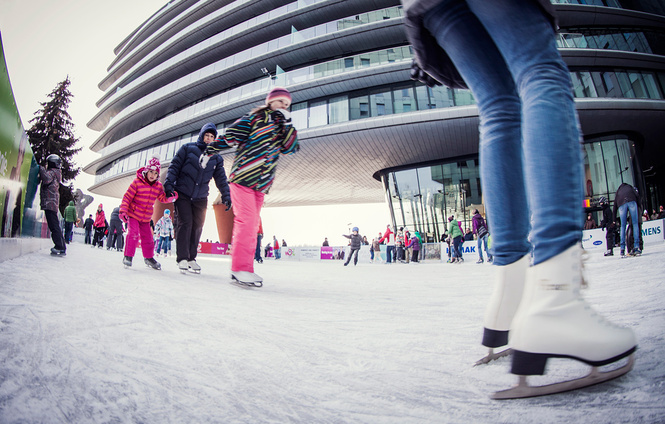 Ice rink at the River Park