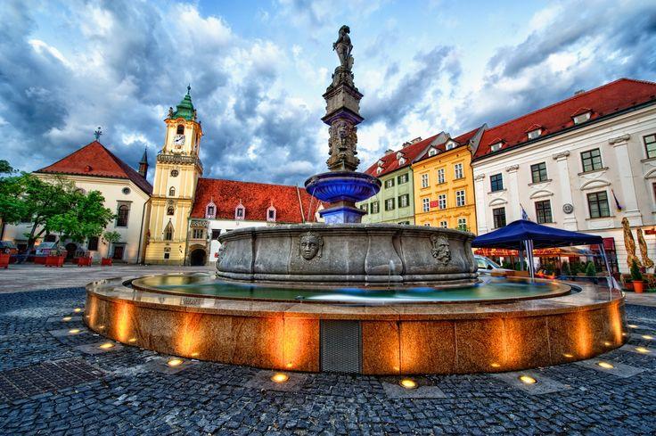 The Main square - Hlavné námestie