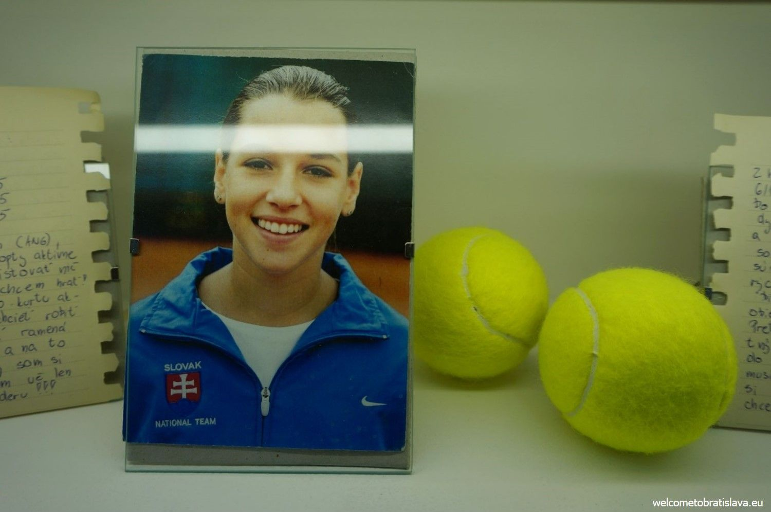 Dominika started to play tennis when she was 7.
