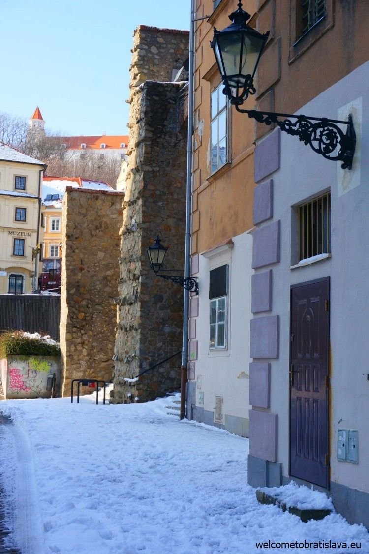View from the entrance of our medieval walls