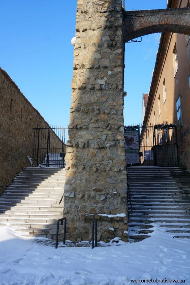 The entrance of our medieval walls
