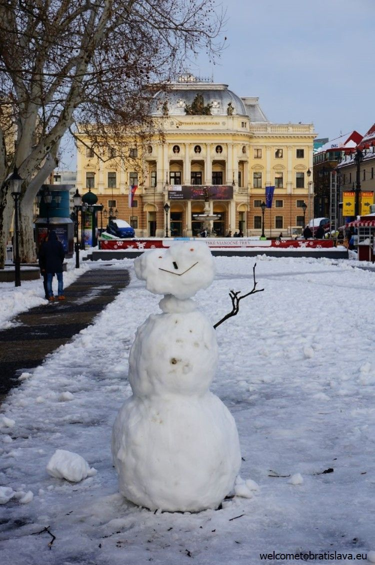 Hi, snowman!