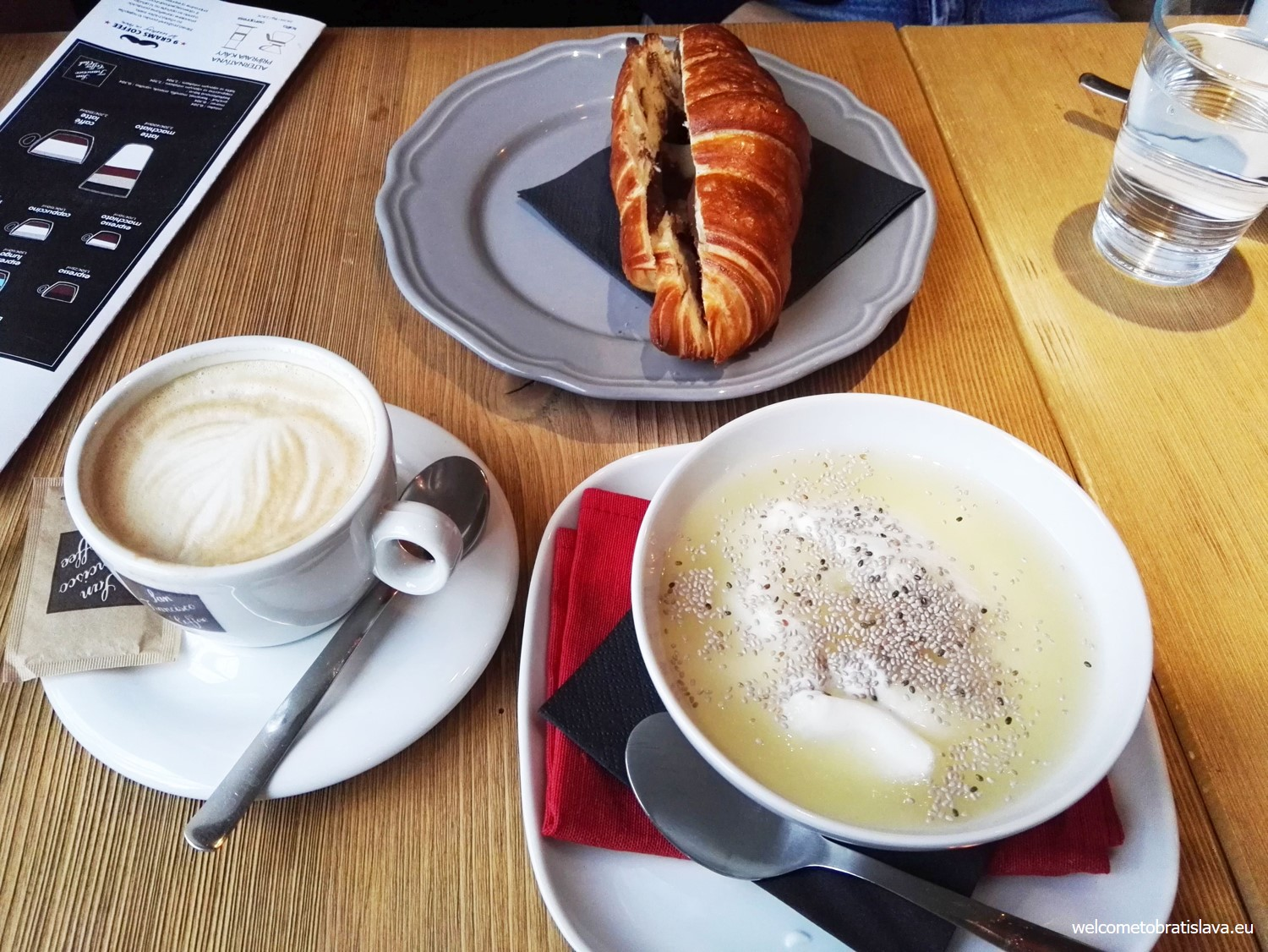 Breakfast at W Cafe