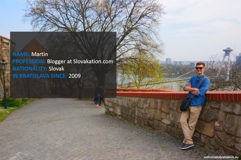 Humans of Bratislava: Martin