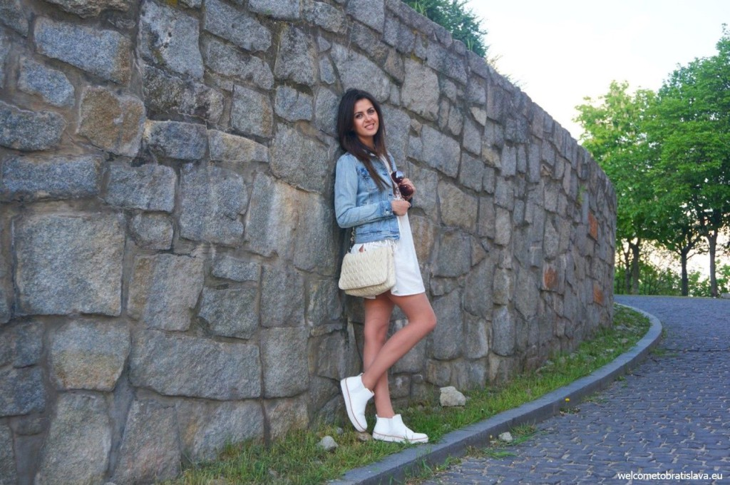 At the castle walls