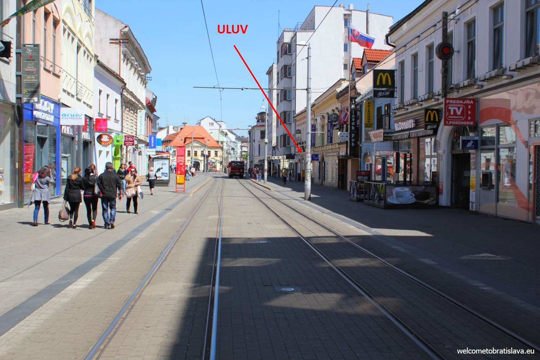 vienna shopping street local