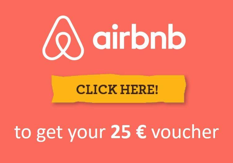 Risultati immagini per airbnb 25 voucher