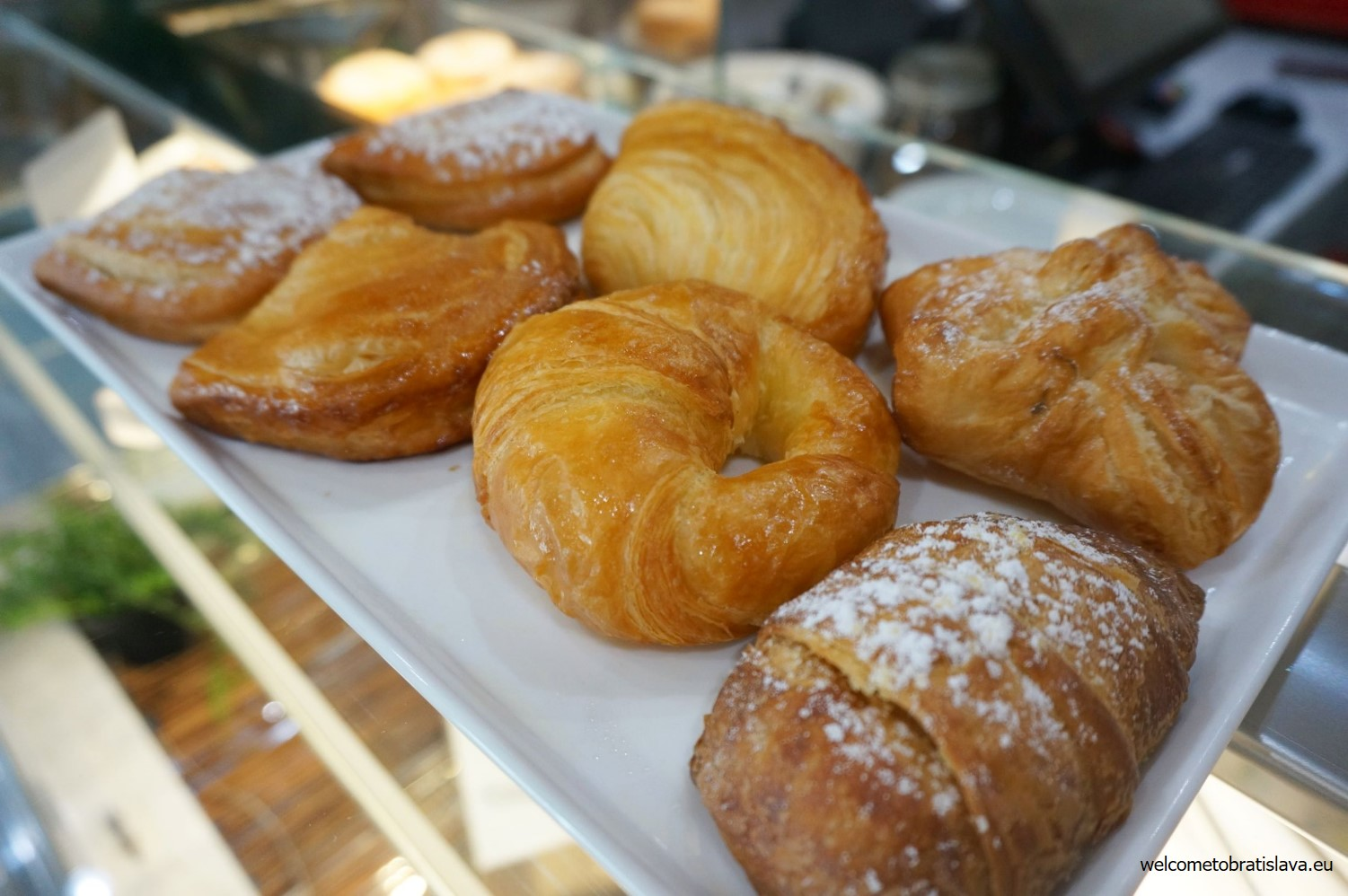 "Various types of pastry - ""sfoglie"""