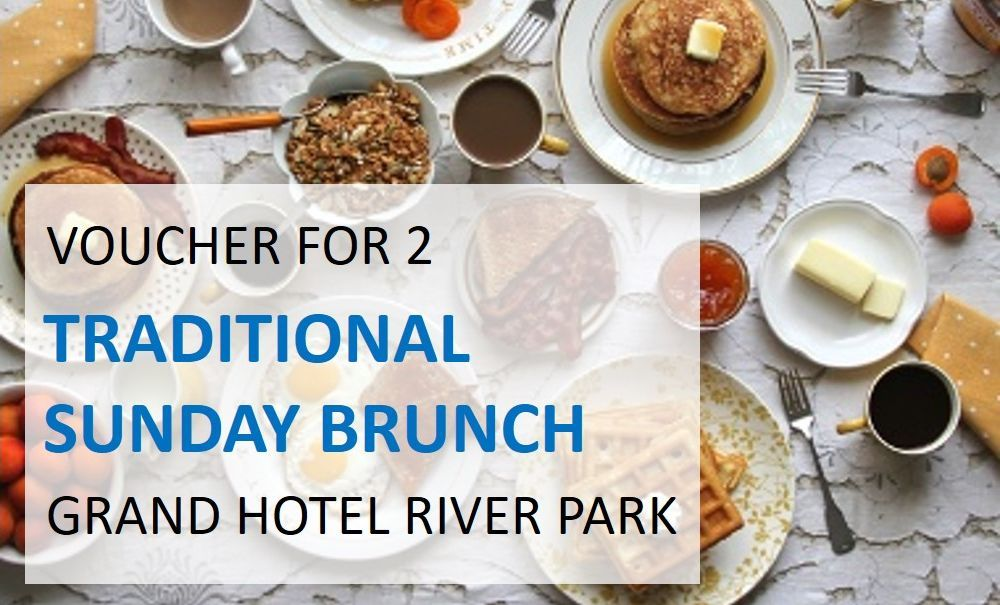 Sunday brunch in Grand Hotel River Park
