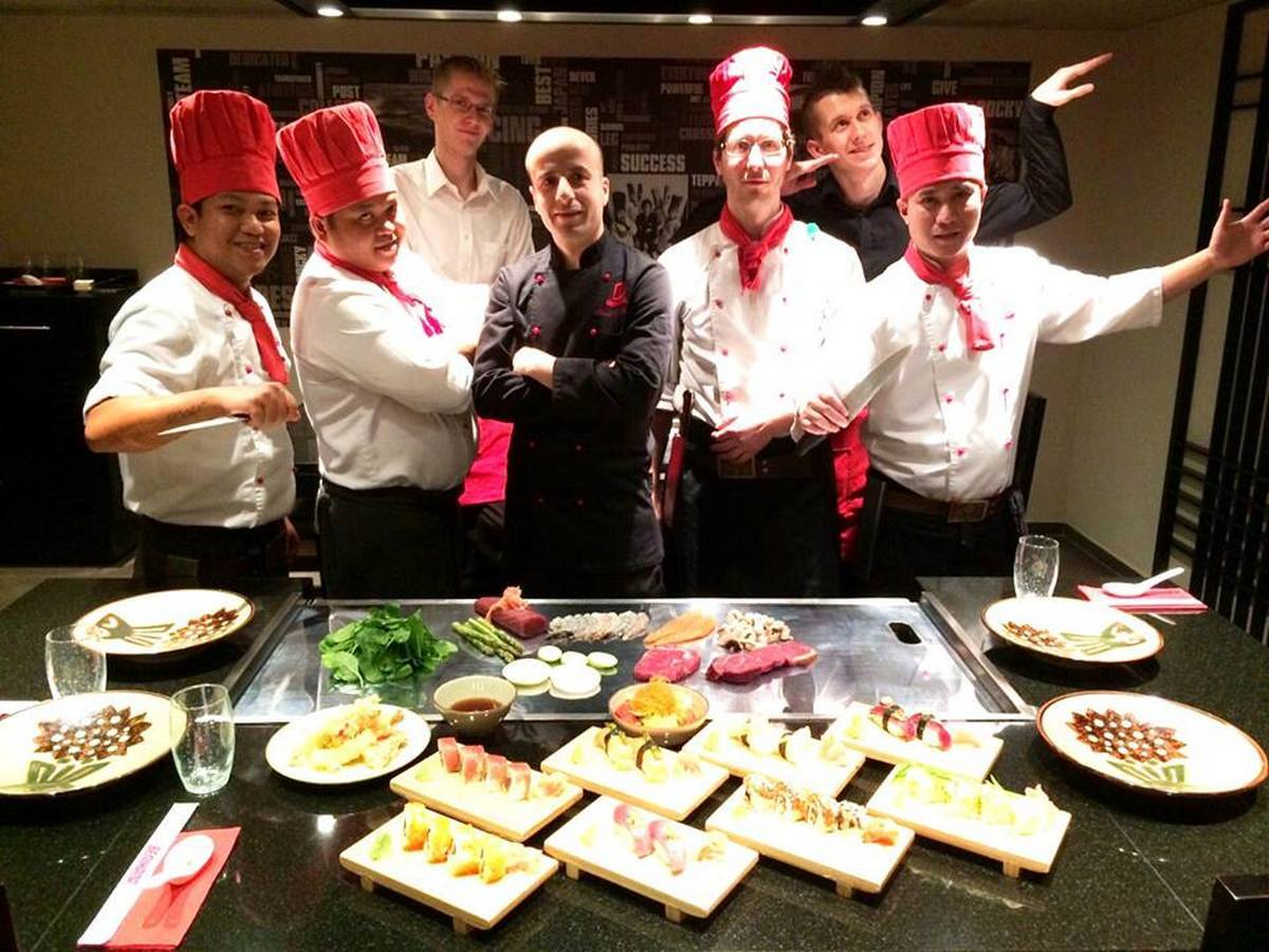 The Benihana team