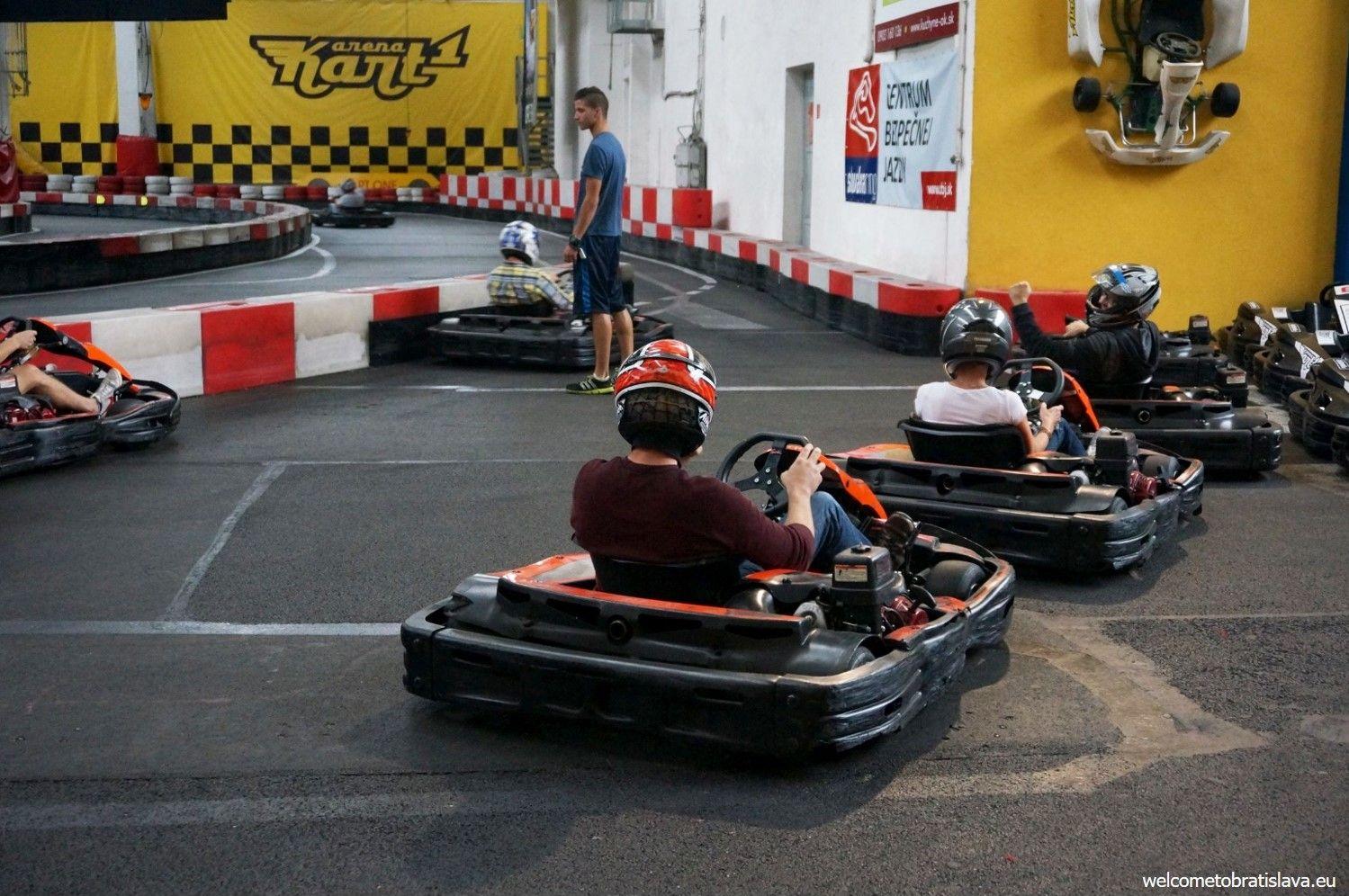 Go karting in Bratislava