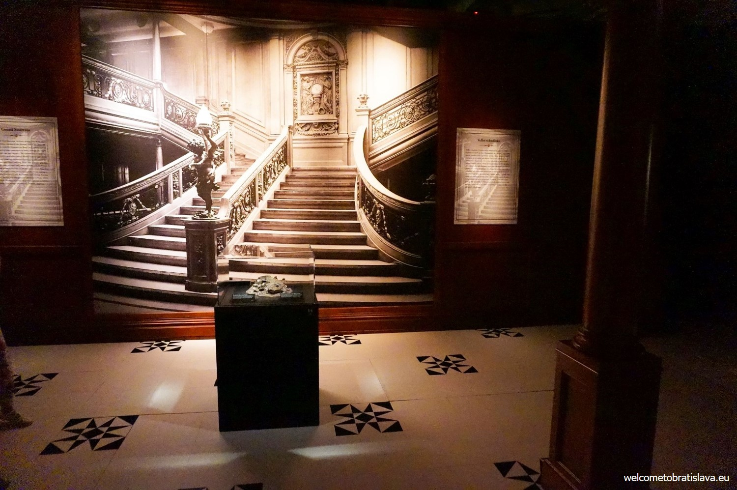 The Grand Staircase of Titanic