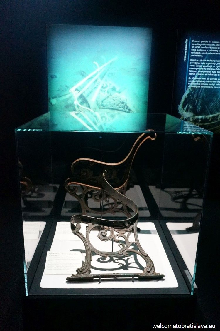 Piece of furniture found during the 2010 exhibition