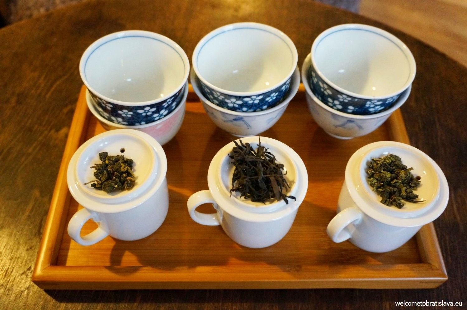 This teahouse has a wide scale of the world best teas of high quality