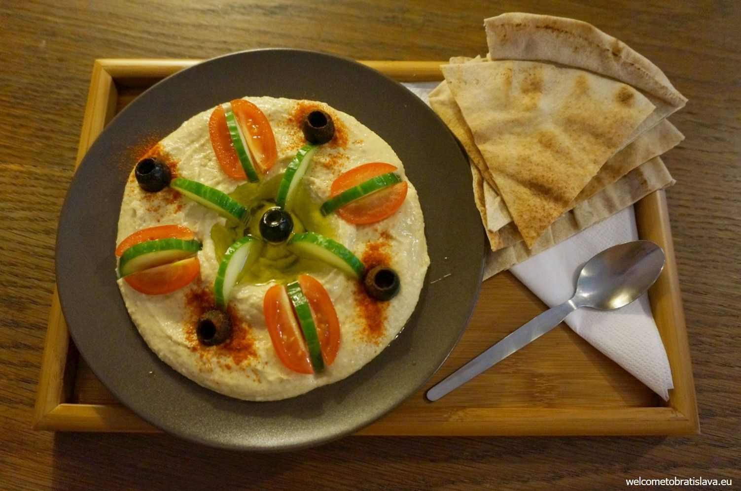 The best hummus in town!