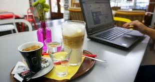 Laptop friendly places in Bratislava