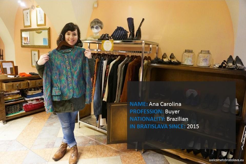Humans of Bratislava: Ana Carolina