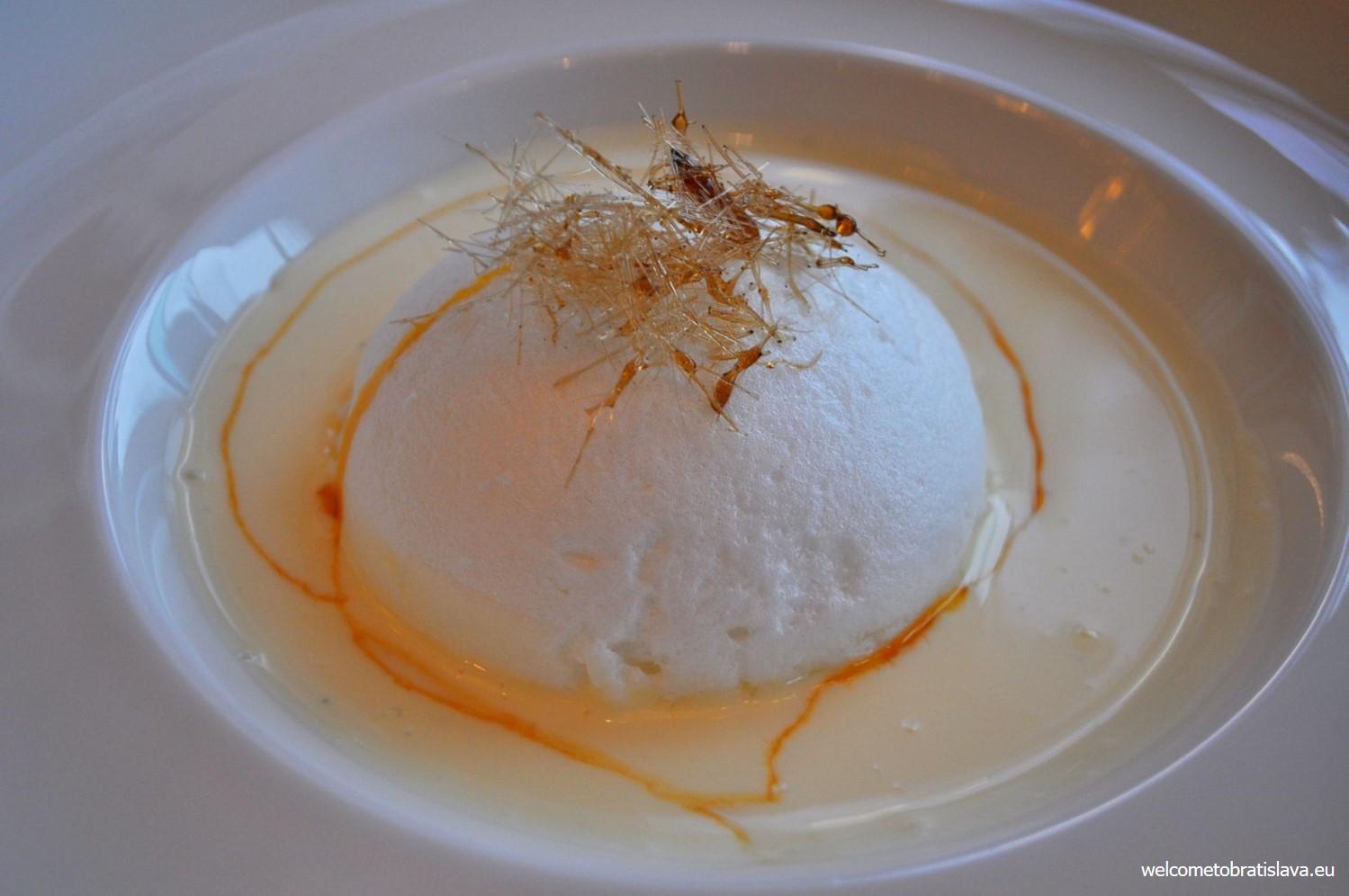 Vtáčie mlieko - dessert