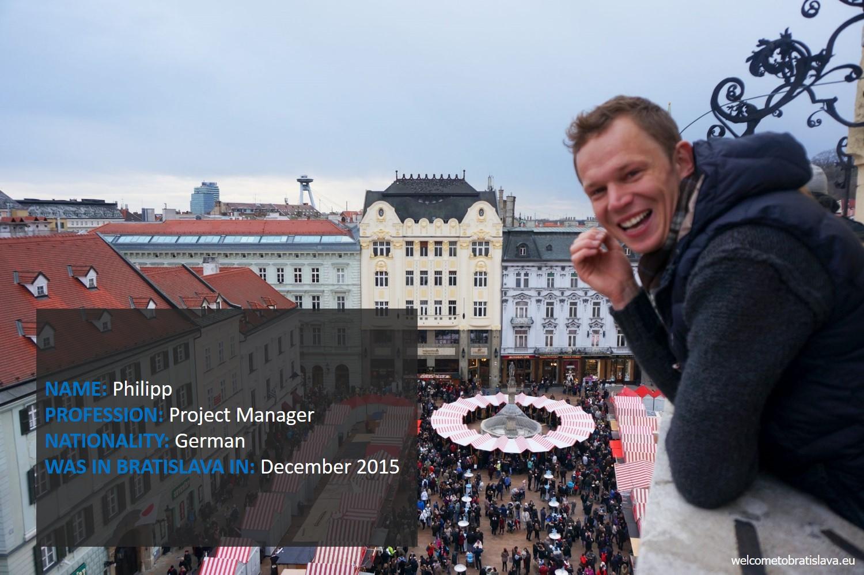 Humans of Bratislava: Philipp
