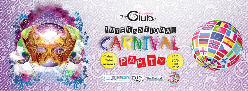 INTERNATIONALS CARNIVAL PARTY